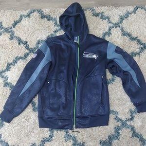 Blue Seahawks jacket